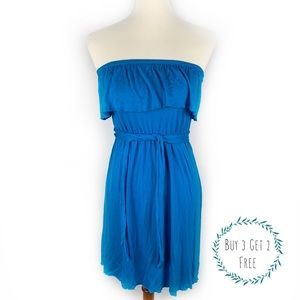3/2 OLD NAVY   Strapless Belted Dress